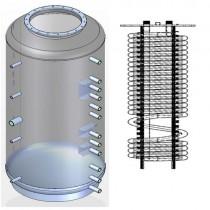 Ballon tampon NIOX-800 combiné eau chaude sanitaire