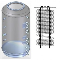 Ballon tampon NIOX-1500 combiné eau chaude sanitaire