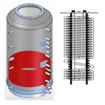 Ballon tampon NIOX1-1500 combiné eau chaude sanitaire