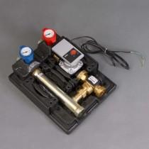 Module hydraulique plancher chauffant avec vanne thermostatique