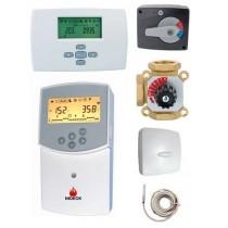Kit de mélange régulateur Clima et thermostat d'ambiance filaire