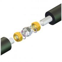 Raccord pour tube inox 16 mm